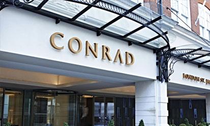 Conrad St James